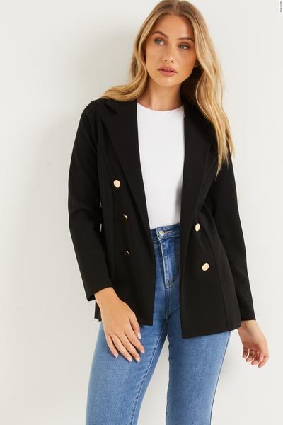 Black Military Jacket